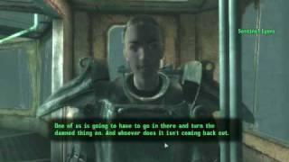Fallout 3 funny ending
