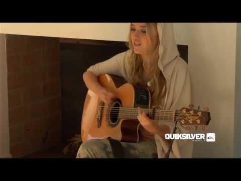 """""""A little easier"""" Live by Quiksilver woman Leddra Chapman"""