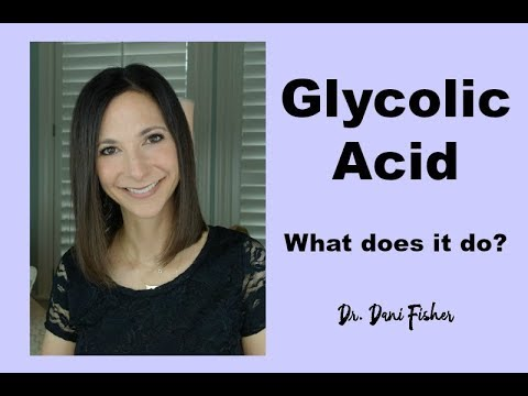 GLYCOLIC ACID | What Does It Do? | What Is It Used For? | Mature Skin | Oily Skin over 40