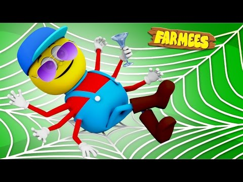 Incy Wincy Spider | Nursery Rhymes | Songs For Kids | Baby Rhymes by Farmees