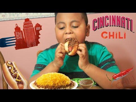 Cincinnati Chili Mukbang 😋