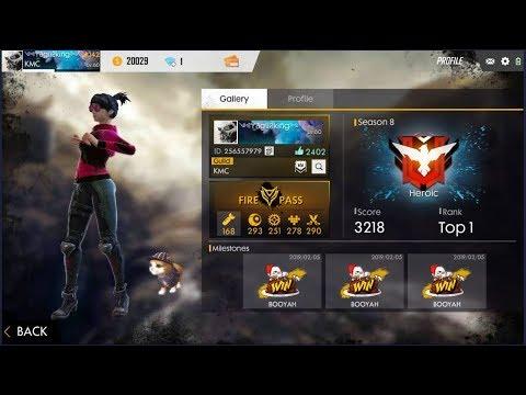 Freefire Heroic In One Day Ii Freefire Live Hindi English India Ii