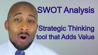Strategic Planning for Information Technology - SWOT Analysis