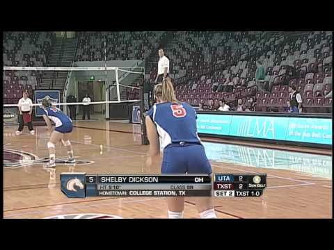 2013 Sun Belt Conference Volleyball Championship - Texas State vs UT Arlington
