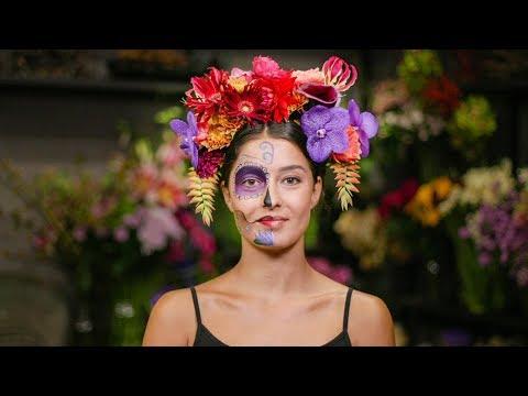 DIY «  Día de los Muertos » : Couronne de Fleurs