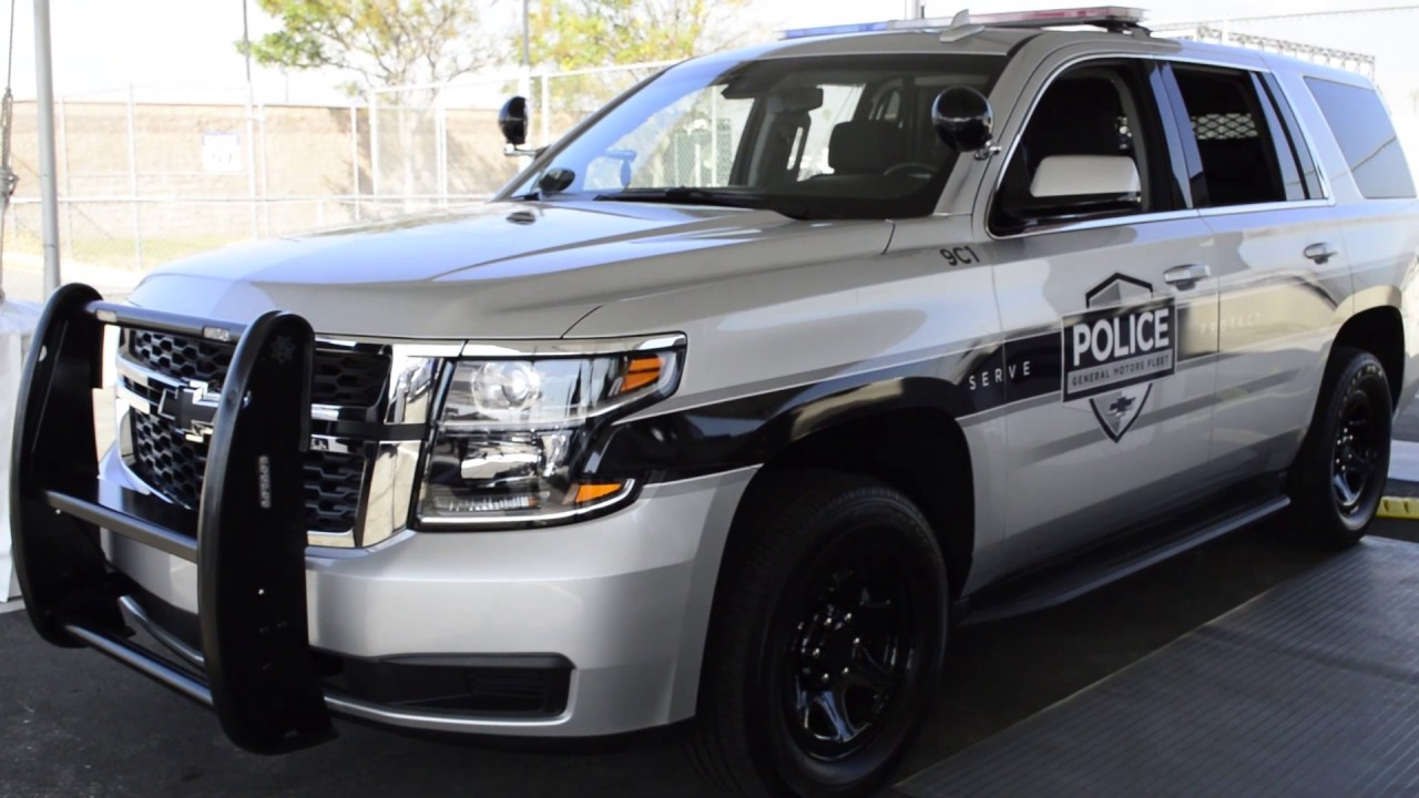 Police SUV: 2019 Chevrolet Tahoe PPV - YouTube