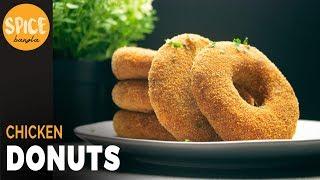 চিকেন ডোনাট । সহজ এবং মজার নাস্তা | Chicken Donuts | Potato Donut | Doughnut Recipe Bangla
