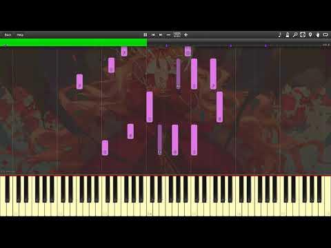 [Synthesia] rockyfrog4 - Campion (Piano Tutorial)