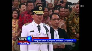 Download Video Prosesi Pelantikan Basuki Tjahaja Purnama Menjadi Gubernur DKI Jakarta MP3 3GP MP4