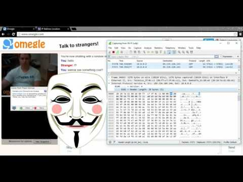 how to get an ip from omegle