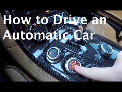 How to Drive an Automatic Car! (The Secret you Need to Know!)