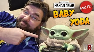 BABY YODA Mattel The Mandalorian Review BR / DiegoHDM
