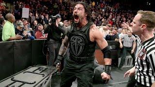Roman Reigns'in Kontrolünü Kaybettiği Anlar!!! - En İyi Ve En Öfkeli Anları