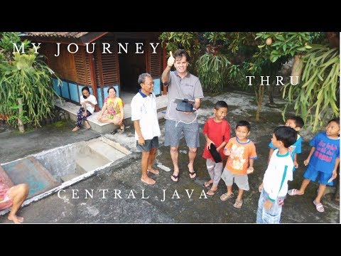 My Journey thru Central Java Indonesia - travel vlog