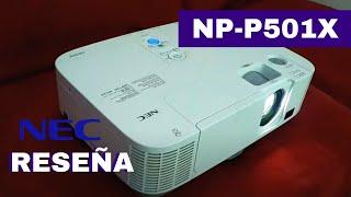 Reseña del Proyector LCD NEC NP-P501X Reconstruido