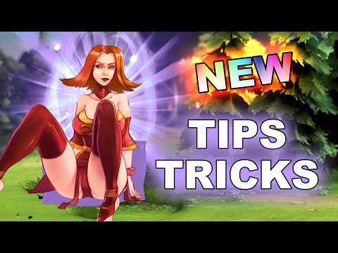 NEW Dota 2 TIPS, TRICKS and BUGS! 7.24