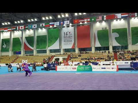 14th WWC -Day5- Women's Shuangjian World Champion Elif Akyuz