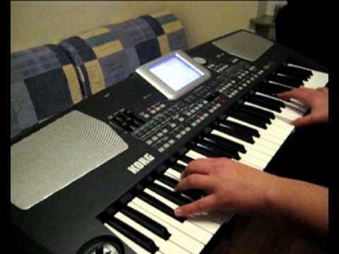 Юра Шатунов - Белые Розы игра на синтезаторе   FunnyCat.TV Одинокий Пастух Ноты