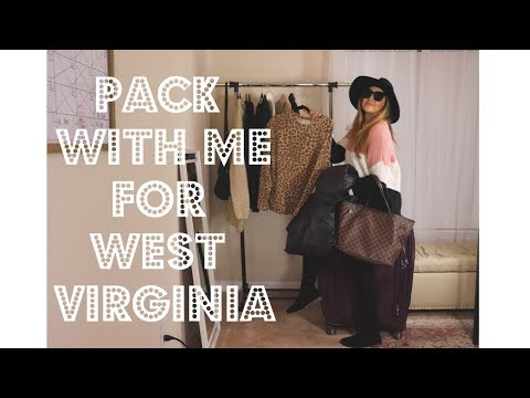 PACK WITH ME FOR WEST VIRGINIA