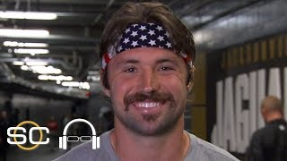 Jaguars QB Gardner Minshew reacts to his win vs. the Titans, journey to the NFL | SC with SVP