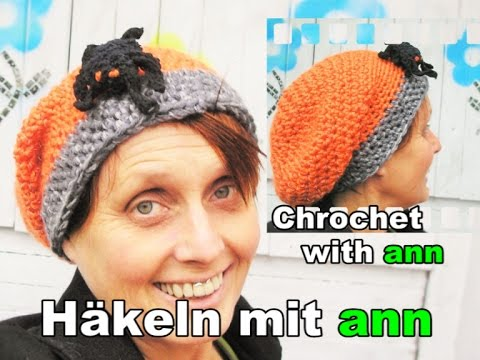 Long Beanie Häkeln Für Anfänger German Tutorial With English