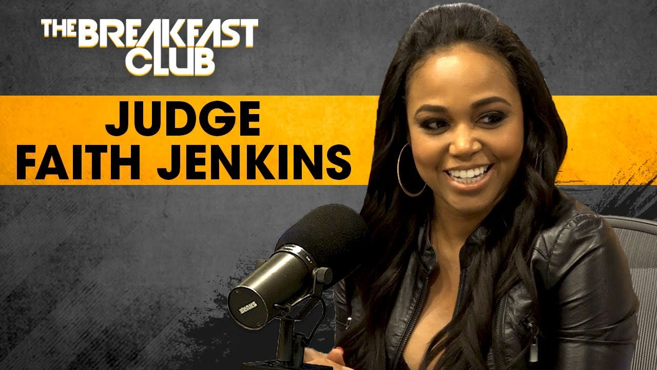 Judge Faith Jenkins On Syndicated Court TV, Fair Representation For Heinous Crimes  + More