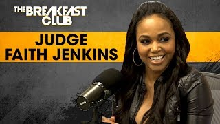 connectYoutube - Judge Faith Jenkins On Syndicated Court TV, Fair Representation For Heinous Crimes  + More