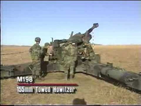 M198 155mm Towed Howitzer