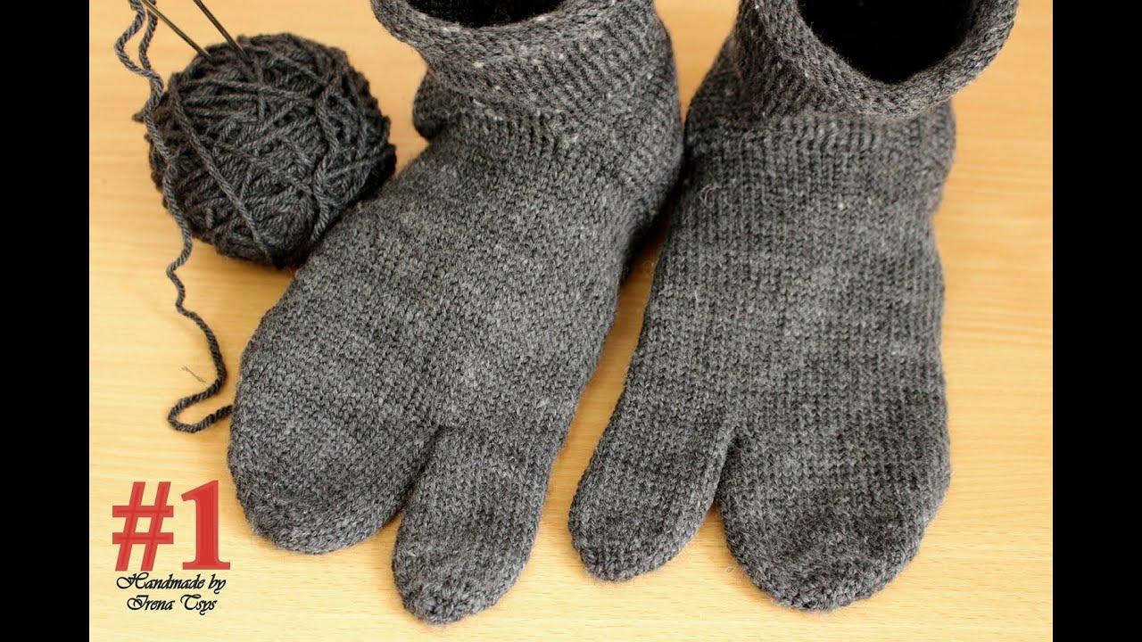 вязание носок ирина акман