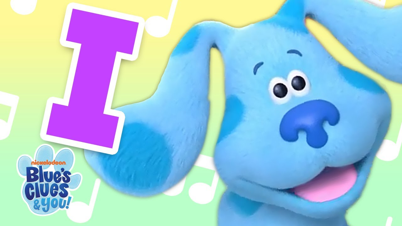 """The Letter """"I"""" Blue's Clues Alphabet Song!   Blue's Clues & You!"""