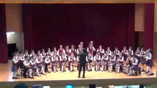 百齡國小直笛團-104年度臺北市學生音樂比賽直笛合奏第一名