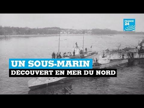 Découverte - Un sous marin de la première Guerre Mondiale découvert dans la Mer du Nord