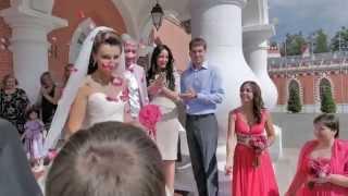 Красивая свадьба в Петровском Путевом Дворце - свадебное агентство Wedding Consult