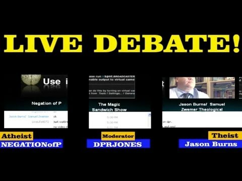 """Jason Burns """"Academically Debates"""" NEGATIONofP"""