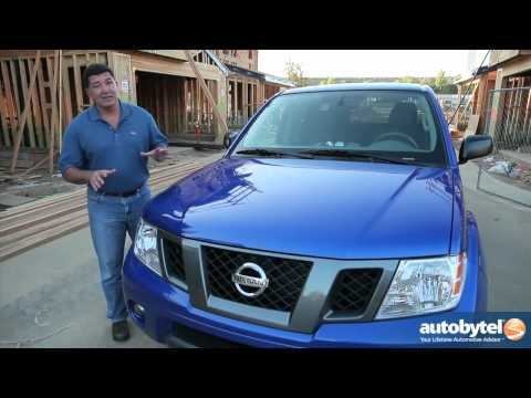 2012 Nissan Frontier Test Drive & Truck Video Review