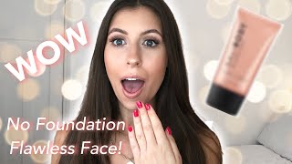 YOU NEED This ḂB CREAM | NO FOUNDATION Flawless Face