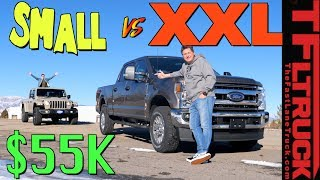Surprise! We Bought Another $55K Truck And Immediately Had a Tug-of-War!