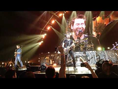 Nickelback - Hero (Live @ Palacio Vistalegre, Madrid, 2018)