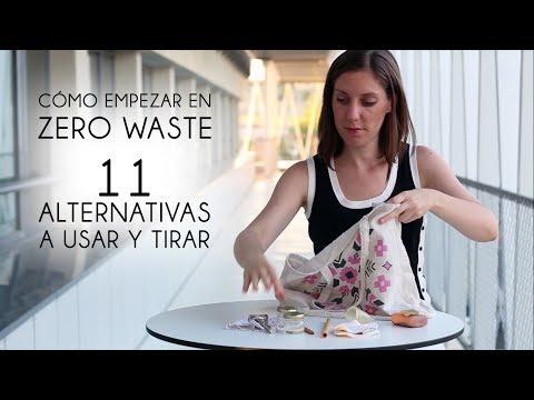 11 Alternativas Zero Waste / Cero Residuos - Por dónde puedes empezar | Orgranico