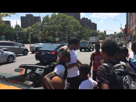 """Jay """"Mr. Real Estate"""" Morrison stops youth on New York streets educating them on options in life"""