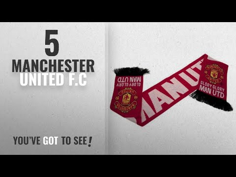 Top 10 Manchester United F.C [2018]: Manchester United Glory Scarf - Multi-Colour, One Size