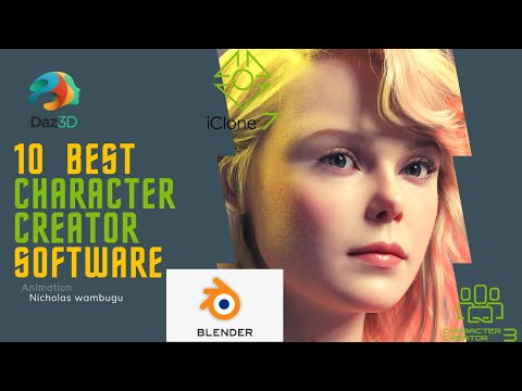 Best Character Creator Softwares- 10 Best 3D Free and Paid Animation Character Creator  Software