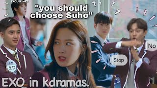Download I bet y'all didn't know EXO was in your favorite Kdrama