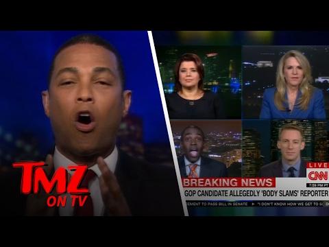 CNN's Don Lemon Gets Heated | TMZ TV