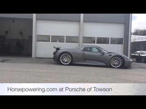 Porsche Of Towson >> Porsche 918 At Porsche Of Towson