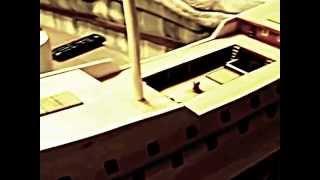 San Martin wooden ship model build log 4