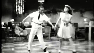 Fred Astaire and Rita Hayworth dancing on Bossa Nova Baby by Elvis Presley