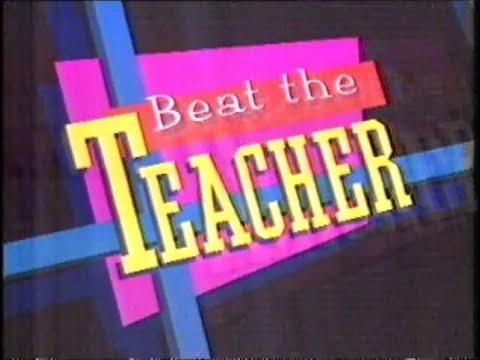 BBC1 Beat The Teacher - 1986 - YouTube