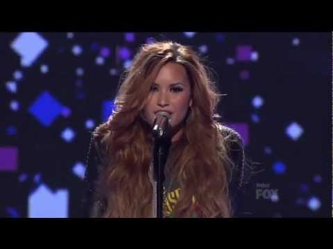 Demi Lovato 'Give Your Heart a Break' Live on American Idol
