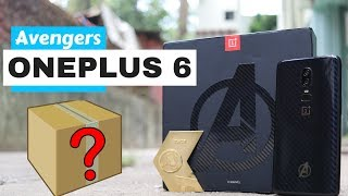 ONEPLUS 6 AVENGERS LIMITED EDITION | UNBOXING & HANDS-ON | 256GB, Gold Medallion